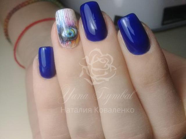 Коррекция гелевых ногтей Киев фото