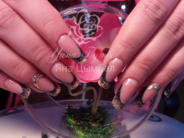 Наращивание ногтей гелем фото