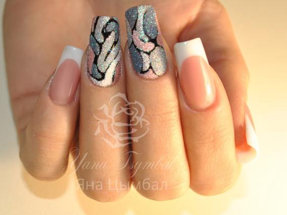 Наращивание ногтей гелем Киев