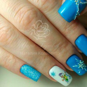 Коррекция арочных ногтей с покрытием гель лаком